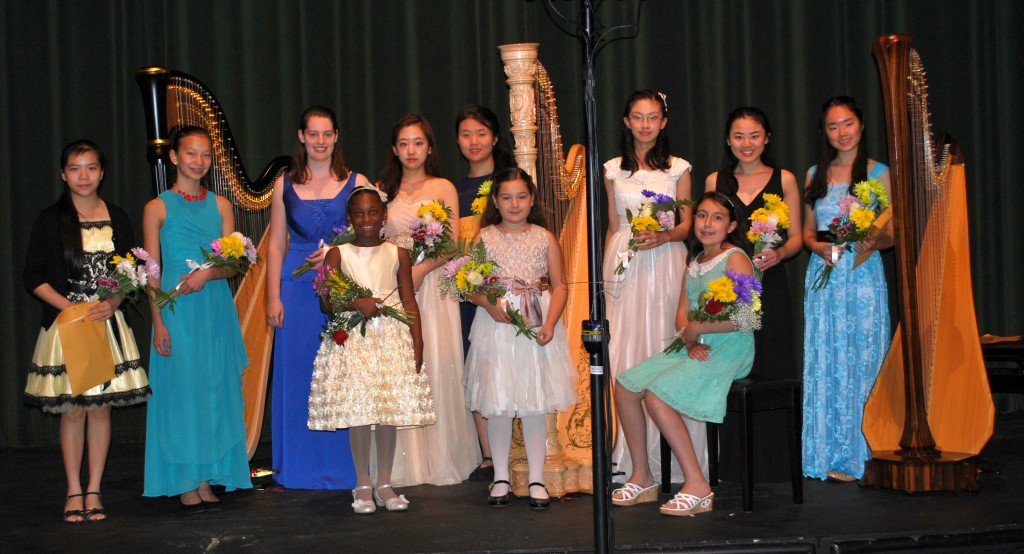 Back row, l. to r.: Tiffany Wong; An-Ya Olson, Abigail Kent, Se Hee Hwang, Suemin Yoon, Christy Yeung, Elizabeth Yeoh-Wang, Ziyuan Ong; front row, l. to r.: Belle Divine, Isabella McCormick, Marie Handy.