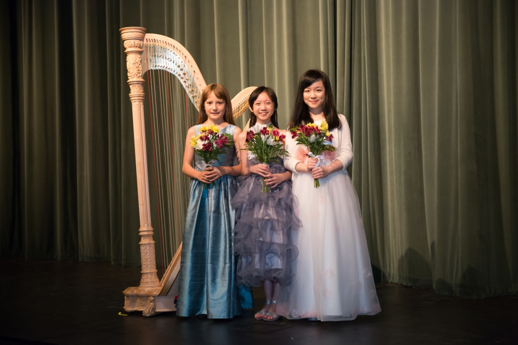 From left: Julia Dietrich; Yuet Kan; Sin Yan Katie Lo. (photo Edward Bennett)