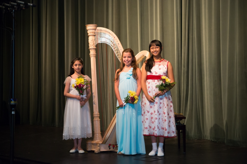 From left: Renee Yadav; Ava Crook; Jadelyn Ding. (photo Edward Bennett).